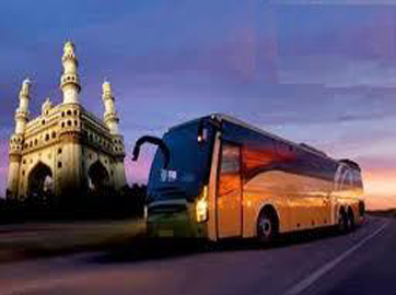 hyderabad bus rental, bus rental in hyderabad, 22, 28, 35, 40, 50 seater bus available for rent, outstation bus rental