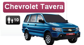 chevrolet tavera car for rent in hyderabad