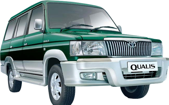 Toyota Qualis For Rent Hyderabad